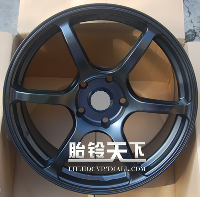 [World] fetal bell 6 painting matt black, white car modified car alloy wheels modified wheel rim 17 inch