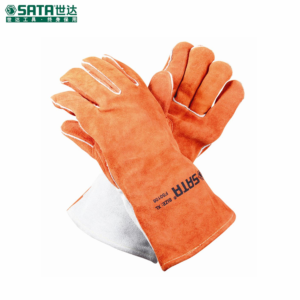 World of labor protective gloves gloves high temperature resistant gloves welding gloves welding gloves safety gloves xl fs0106