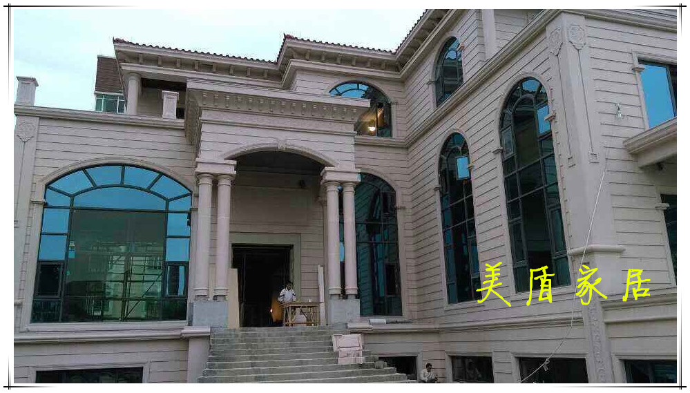 Wuhan steel sun room professional production of steel soundproof glass sun room sun room terrace laminated safety glass