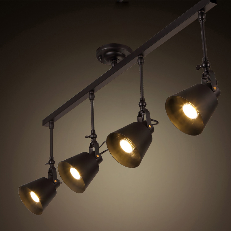 Vintage track lighting Industrial Get Quotations Wyatt Combined Industrial Lamp Creative Personality Vintage Clothing Store Cafe Bar Station Led Track Lighting Ceiling Alibabacom China Vintage Track Lighting China Vintage Track Lighting Shopping