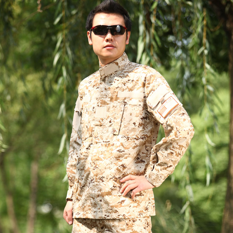 Wzjp without thieves desert digital camouflage clothing outdoor clothing for men and women suits army fans bar laser korea a full