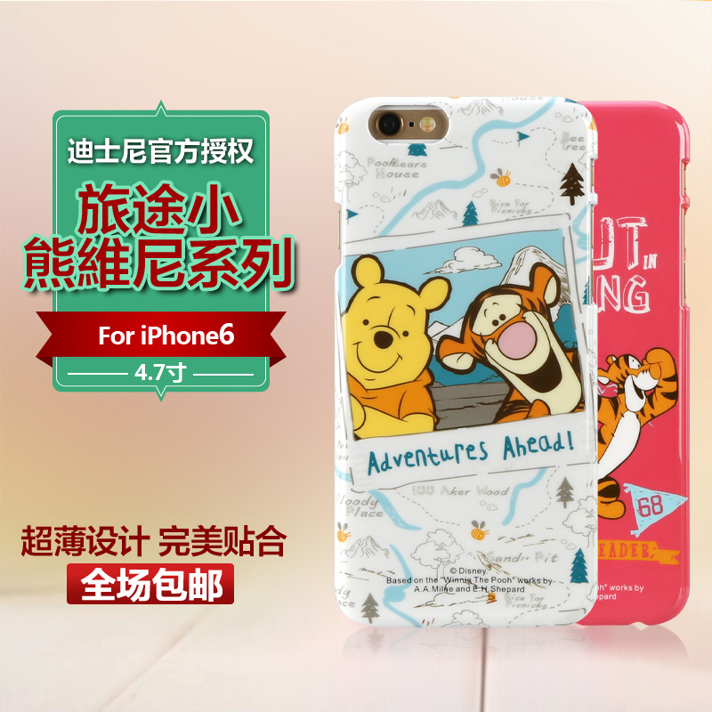 Xdoria road swiss disney iphone6s phone shell the whole package of the new jin thin 4.7 inch protective shell drop resistance
