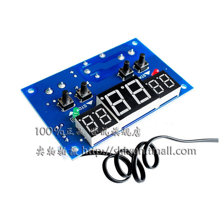 Xh-w1401 intelligent digital temperature controller thermostat temperature controller on the lower limit of three simultaneous display window