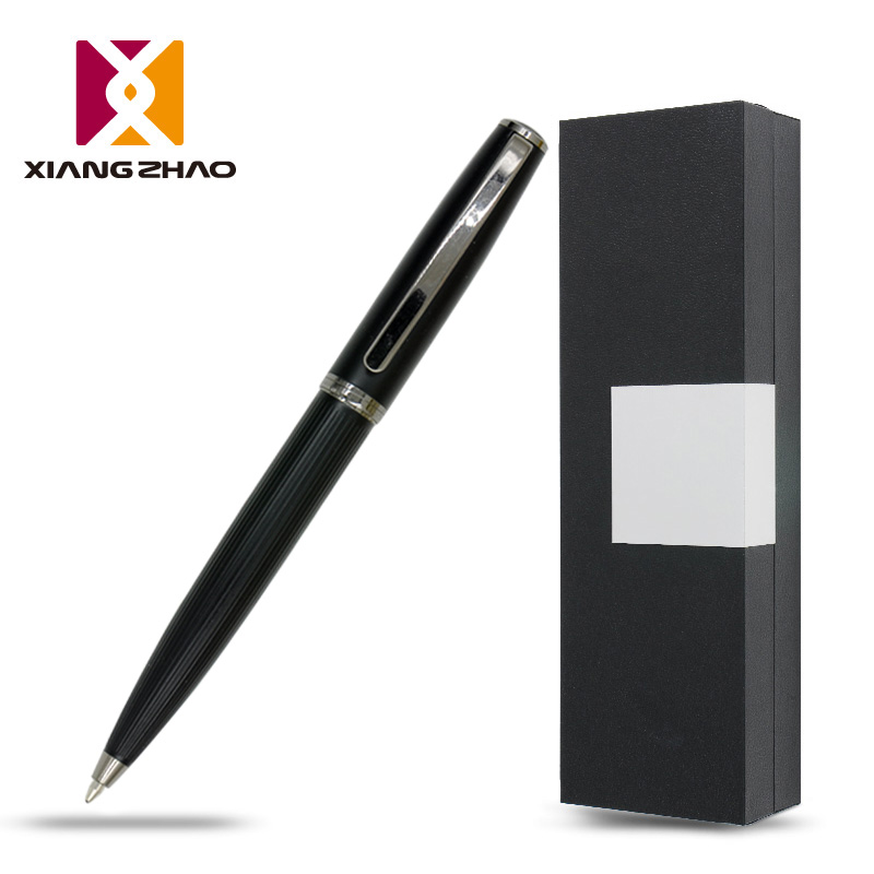 Xiangzhao creative plating metal ballpoint pen gift box business office pen water pen gift pen customized