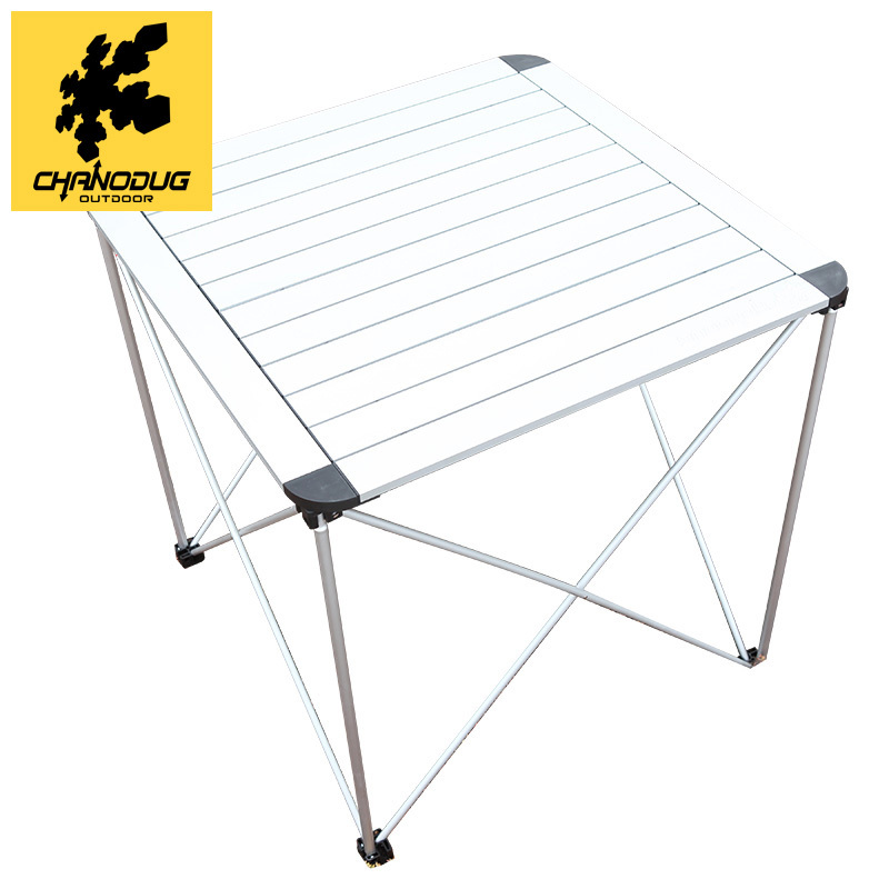Xianuoduoji summer outdoor portable aluminum folding tables and chairs desk desk night market stall tuba