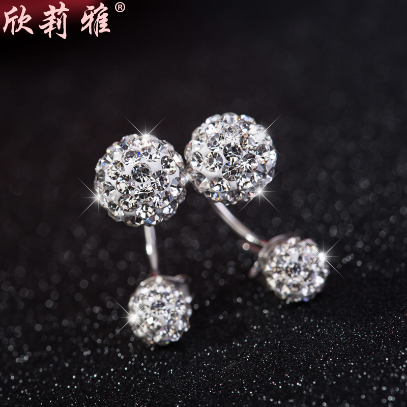 Xin li ya s925 silver earrings earrings earrings temperament korean fashion valentine's day gift hypoallergenic promotions
