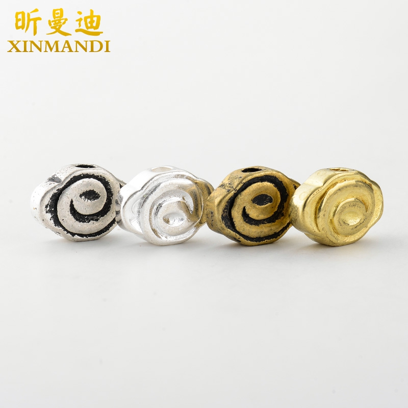 Xin mandy-14mm diameter brass/goes back together jinyin xiang yun 108 pu tizi mayhidden back cloud diy accessories