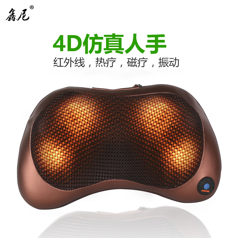 Xin nigerian car neck massager neck waist shoulder massage cushion neck pillow car with care electric massage pillow pillow
