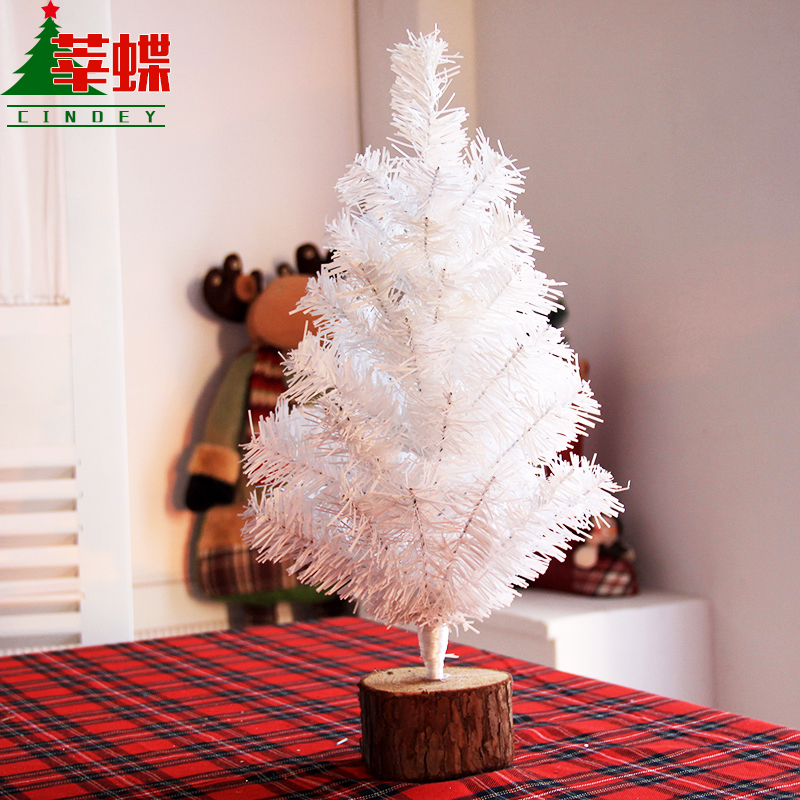 Xin skipperling desktop christmas tree ornaments white christmas tree mini christmas tree decorations christmas gifts