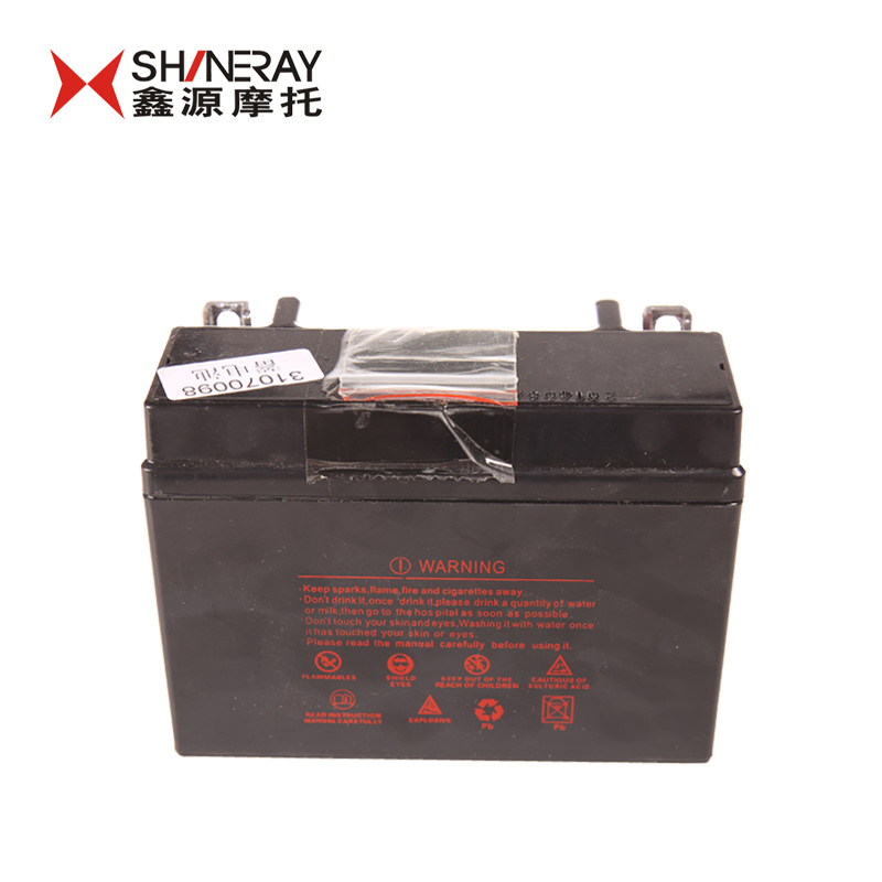 Xinyuan X2 Accessories Shineray Scrambed Motorcycle Battery 12 V 65a