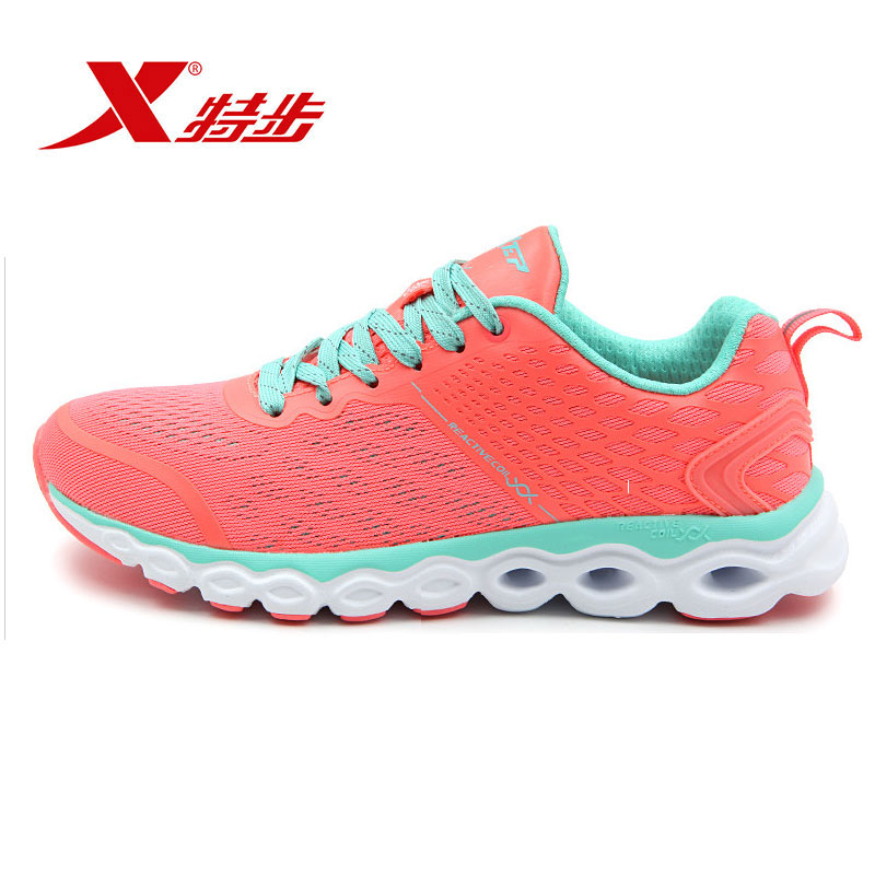 Xtep shoes running shoes cushioning shoes 2016 spring and summer new breathable mesh sports shoes ladies shoes casual shoes slip