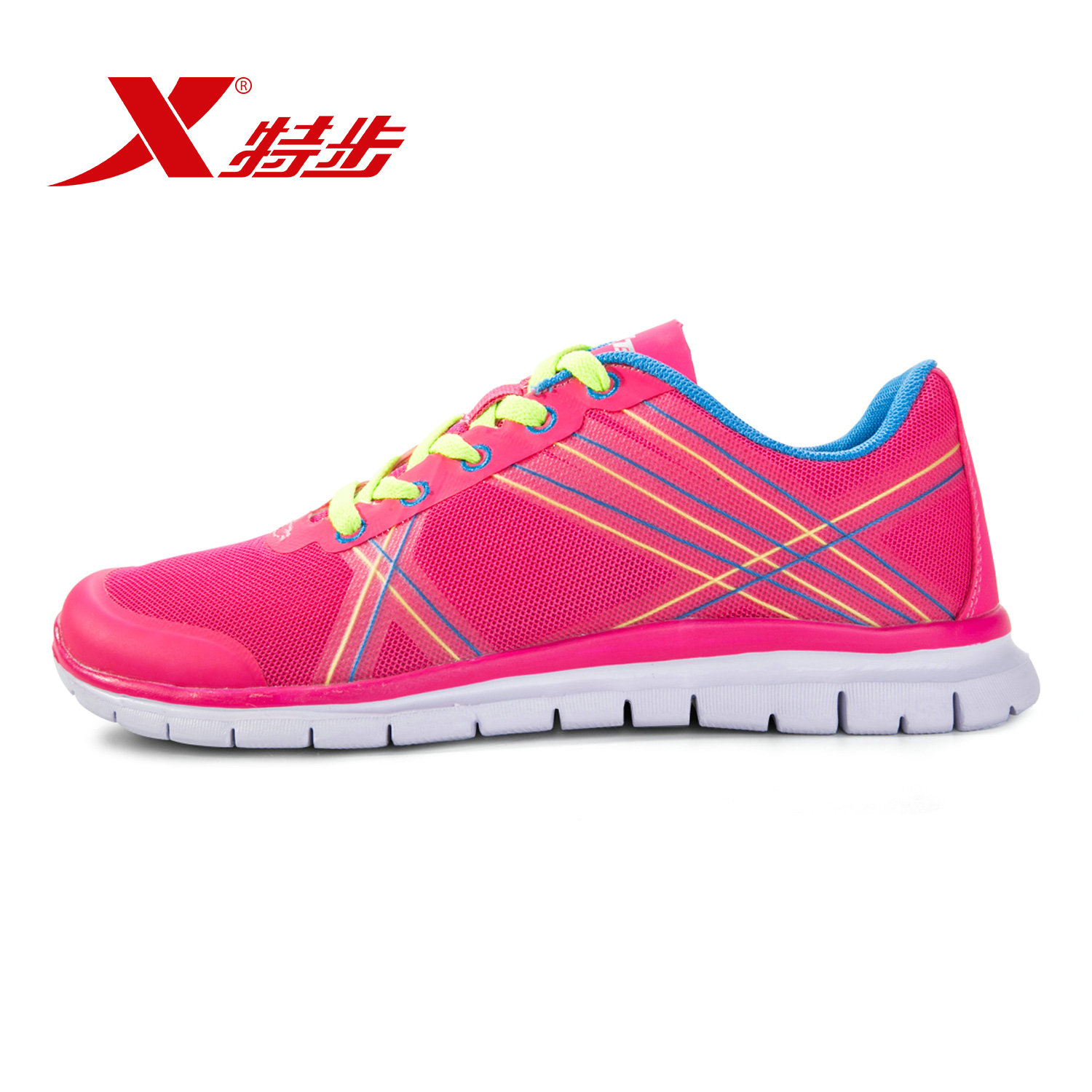 Xtep sports shoes summer shoes official authentic 2016 new women's running shoes lightweight casual shoes running shoes shock reduction female