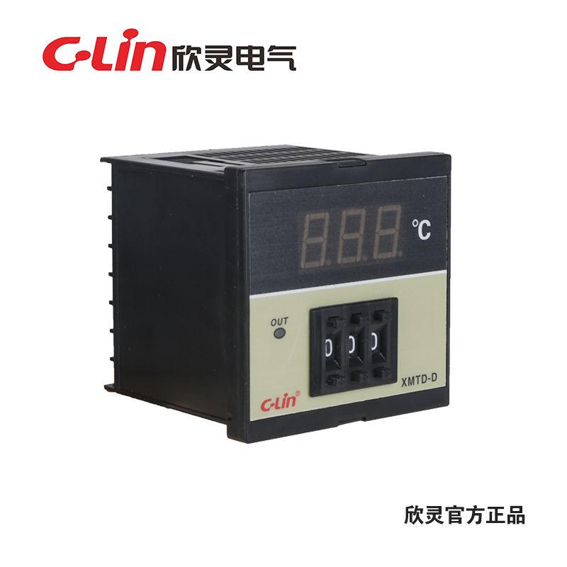 Yan ling temperature controller thermostat XMTD-D digital temperature controller temperature controller temperature display meter section tune digital regulator