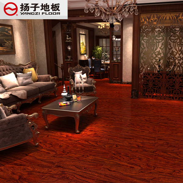 Yangzi parquet wood flooring environmentally friendly flooring to warm geothermal multilayered wood flooring 15mm wf2011