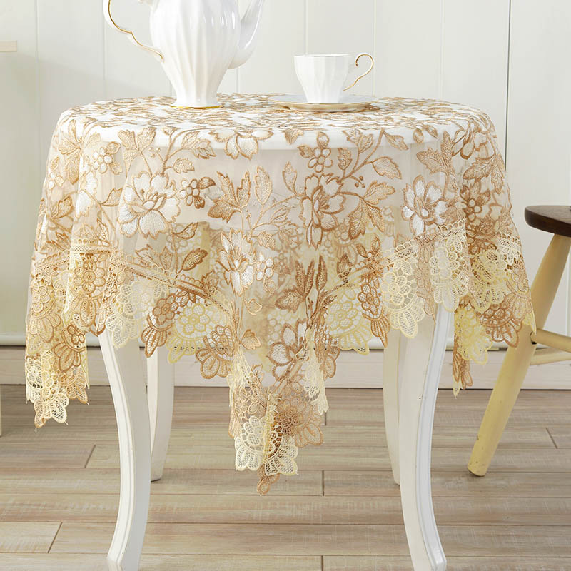 Get Ations Yarn Lace Tablecloths European Coffee Table Cloth Tea Cover Towel Round Tablecloth Tv