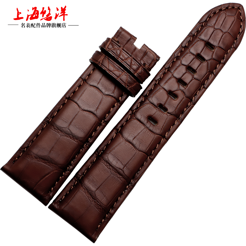 Yau yang leather strap male alligator watch band replacement timewalker star series 20 | 22mm