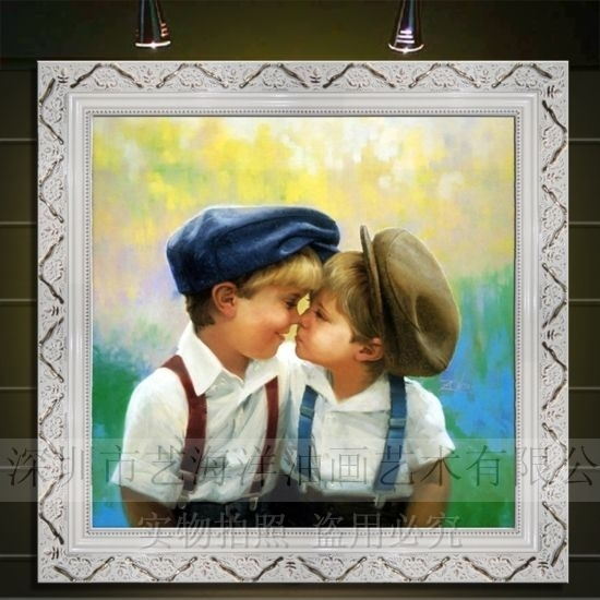Get Quotations Yi Yang Painted Childrens Room Wall Paintings Of European Framed Painting The Living Dining
