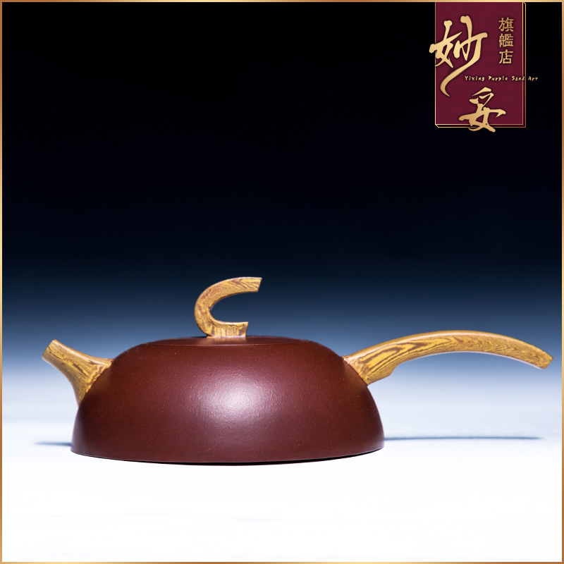 Yixing teapot ore famous handmade beauties teapot suit handmade twisted mud gong fu tea tang yu pot