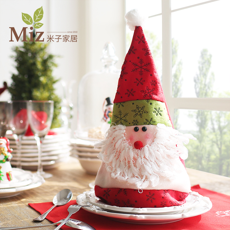 Yonago creative home decorations christmas gifts christmas hat santa claus hat cute cartoon creative