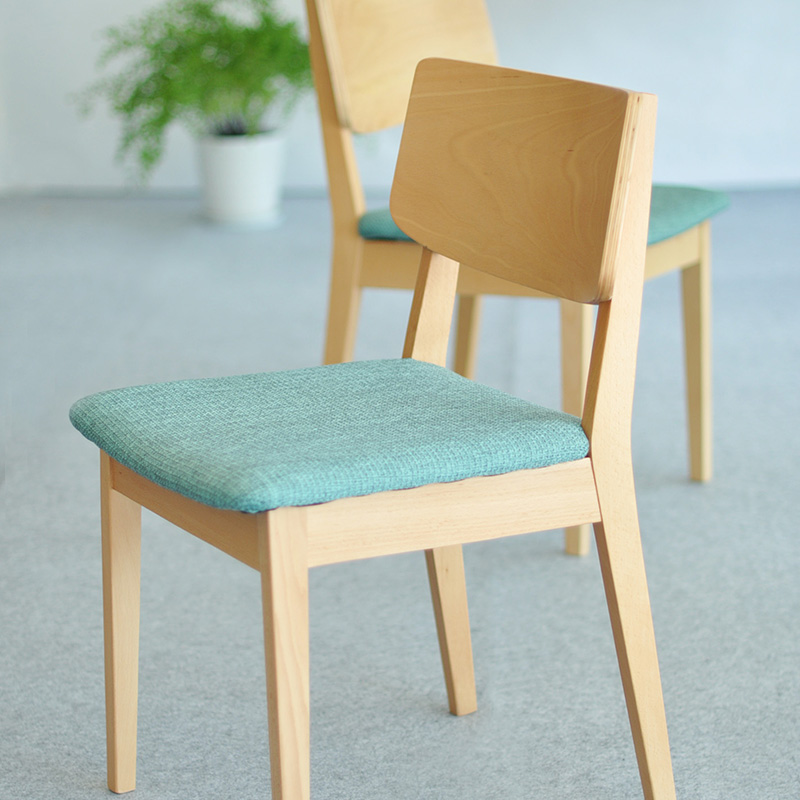 You care living japanese beech solid wood simple and stylish solid wood dining chair dining chair dining chair wood color