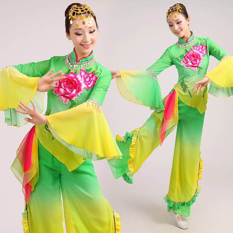 b1e729b620c0 Get Quotations · Younger clothing 2015 new aunt square dance group dance  game dance dance party dance costumes female