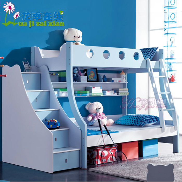 Youth online two double bunk bed bunk bed children's bed combination adolescent students bunk bed furniture