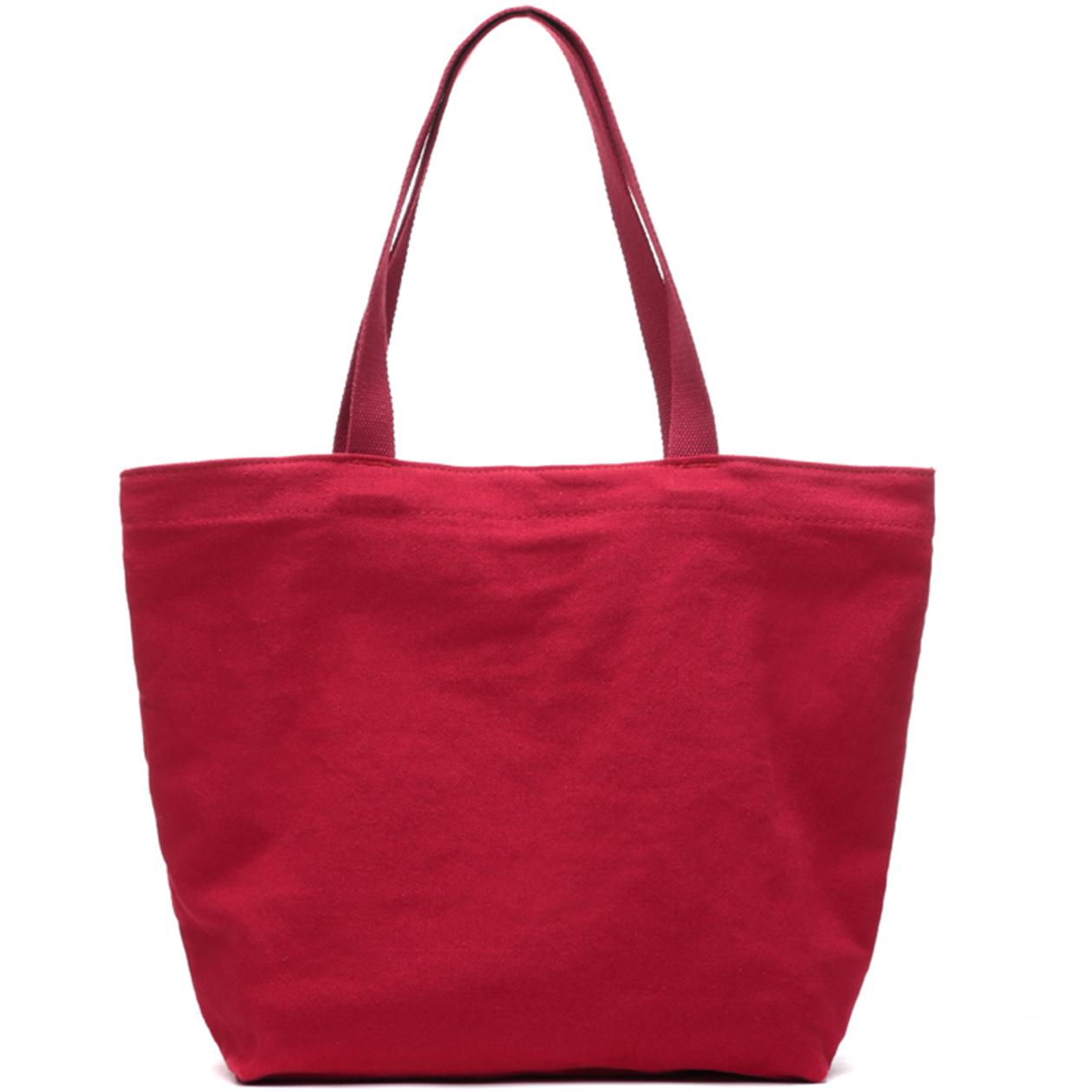 81dd0d98c71f Get Quotations · Yuanben good plant brand new cotton soft popular portable  canvas shoulder bag tote bag leisure female