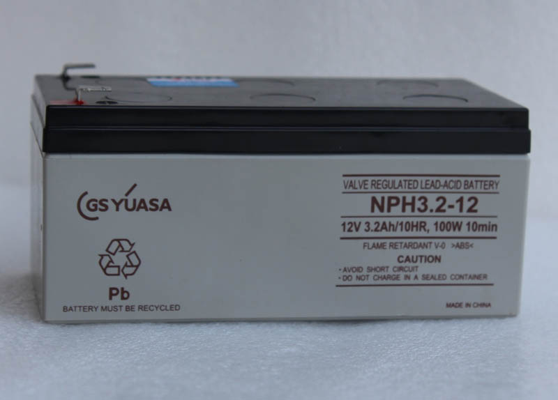 Yuasa (yuasa) NPH3.2-12 12v3. 2ah battery battery stroller battery of medical equipment