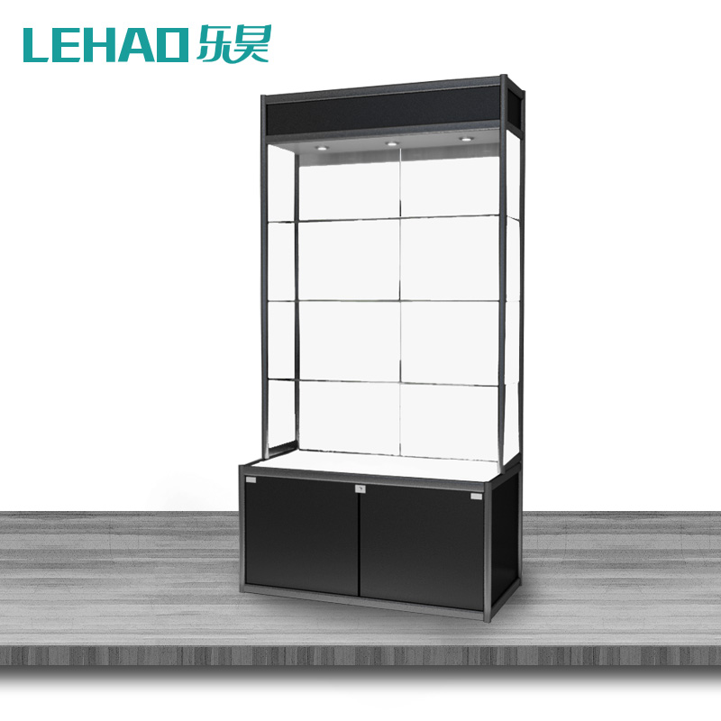 Yue hao LCTA-SB-15 boutique showcase glass display cabinet jewelry counter display cabinet showcase