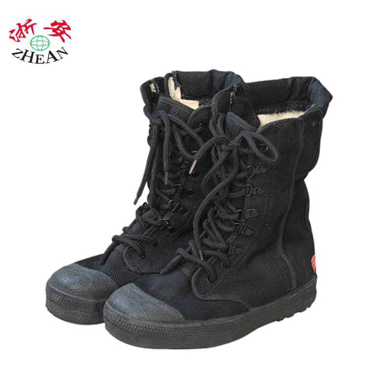 Zhejiang ann cloth fire equipment fire escape rescue boots boots/fire boots/fire fighting clothing supplies and equipment for outdoor