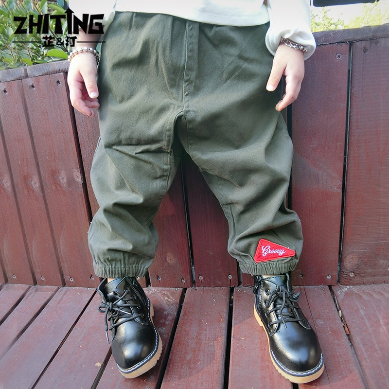 Zhi ting baby boys casual pants children pants boys trousers children 1-2-3-year-old children's casual pants trousers