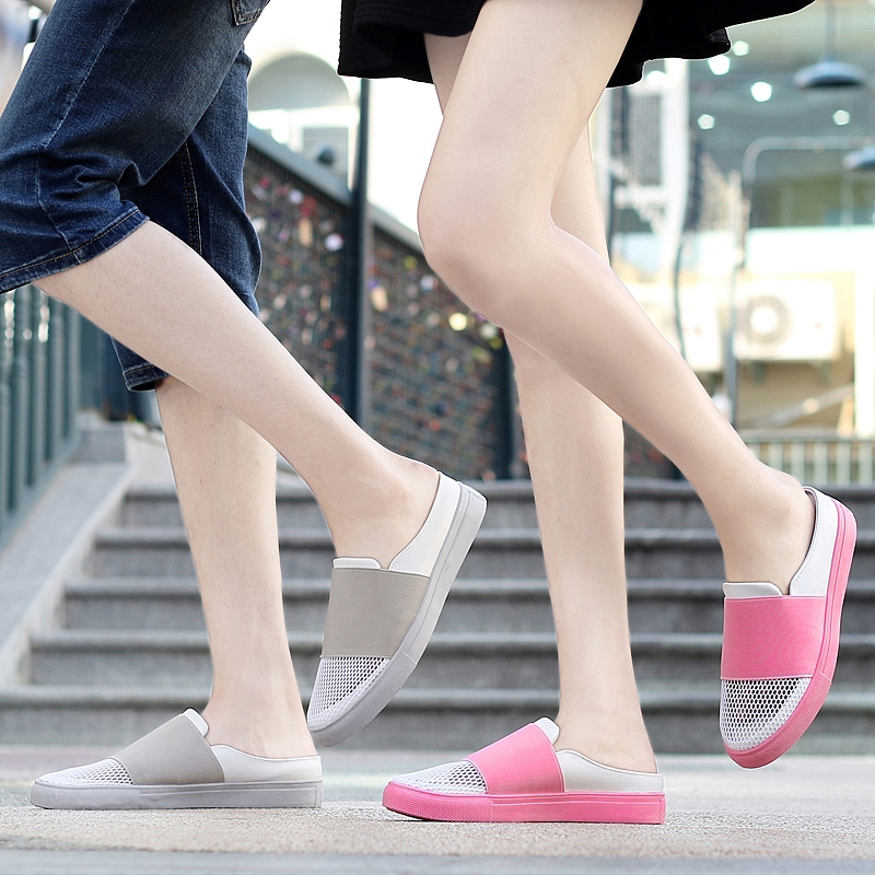 Zhuo track 2016 summer new mesh shoes couple shoes mesh shoes wild casual korean version of the sail cloth shoes female student shoes tide