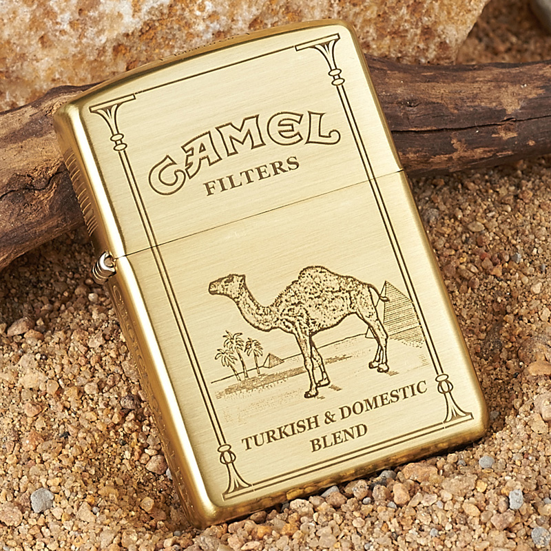 Zippo lighters genuine original authentic zippo lighter copper armor pentahedral camel zoppo lighter