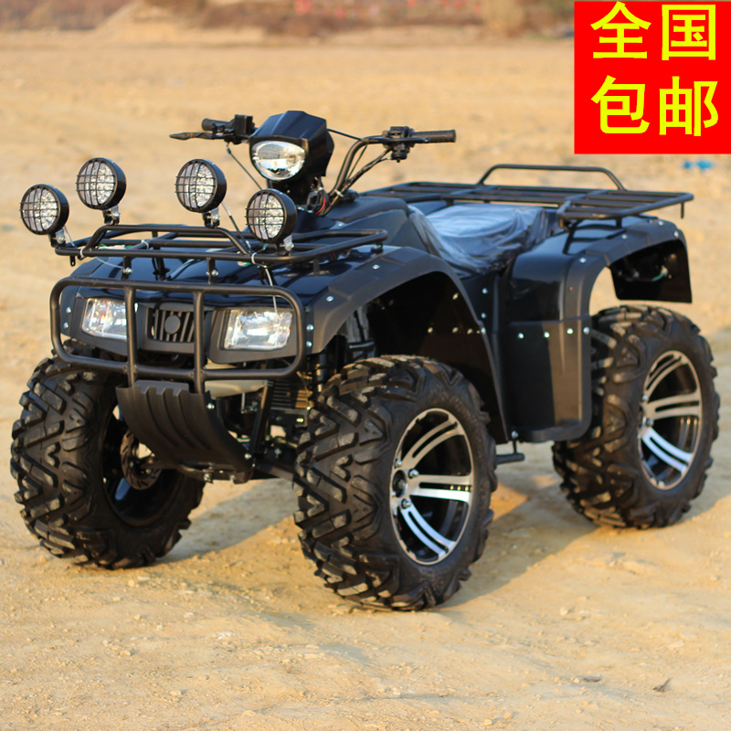 Zongshen 250cc water cooled shaft drive with differential 14 inch longding big hummer atv motocross four round Car