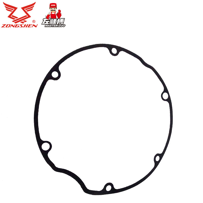 Zongshen motorcycle genuine original parts 250gs LY250 right engine cover decorative cover gasket