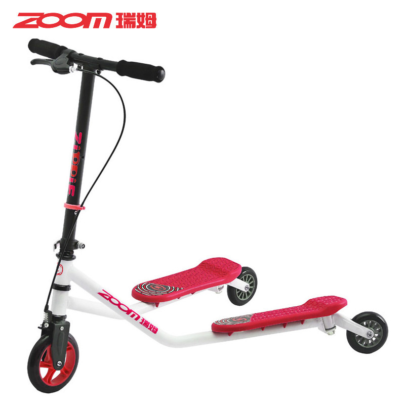Zoom ruimu breaststroke car 3 children skating scooters foot scooters scissors car folding stroller new models