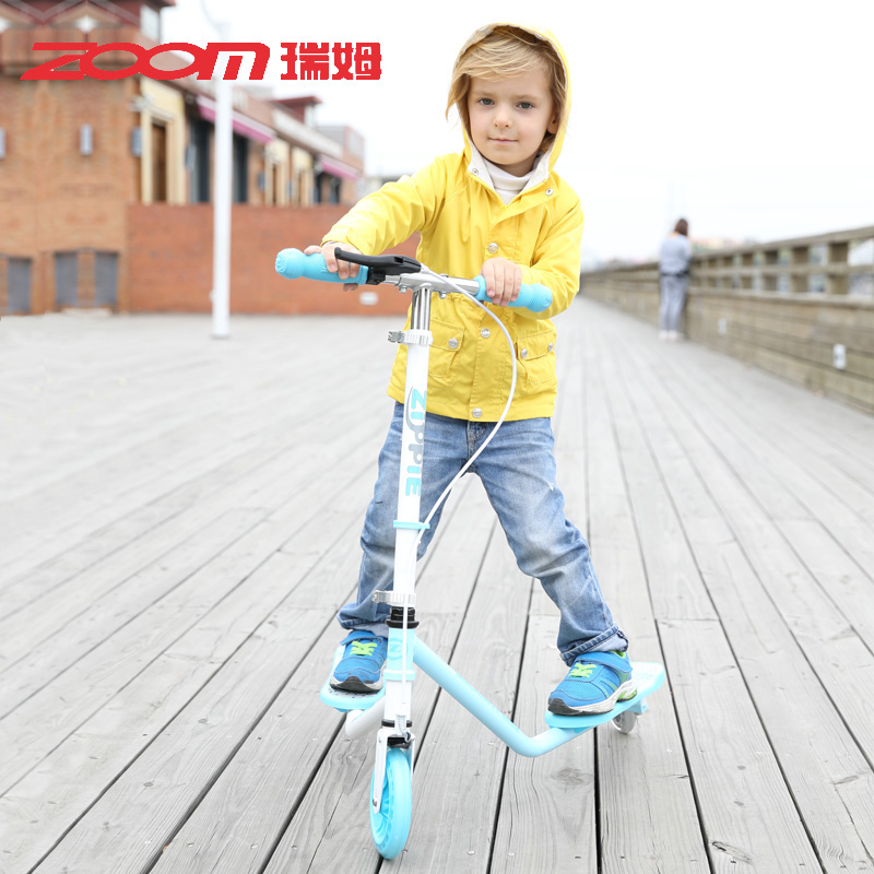 Zoom ruimu breaststroke car three children scooters scissors car treasure treasure stroller folding lift authentic free shipping