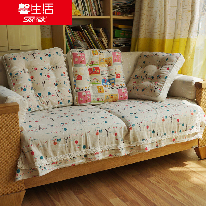 0 xin life seasons cotton sofa cushion fabric cushion sofa cushion sofa towel sofa cover cloth towel cover set