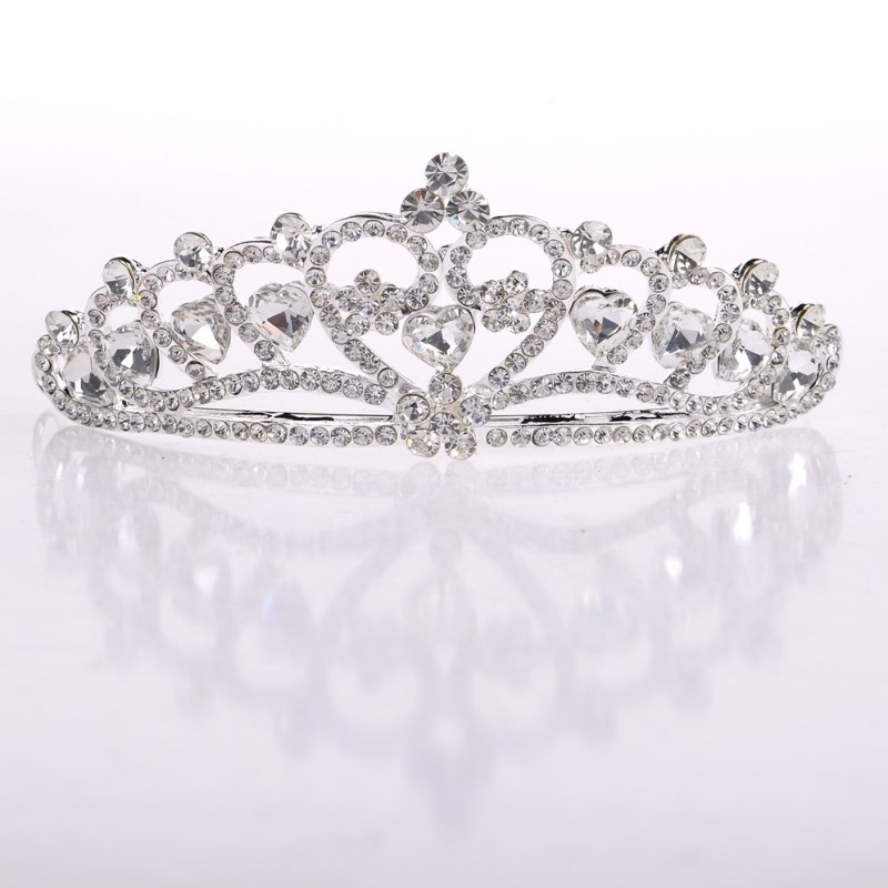 Korean bride wedding wedding dress rhinestone tiara comb hair accessories wedding jewelry studio