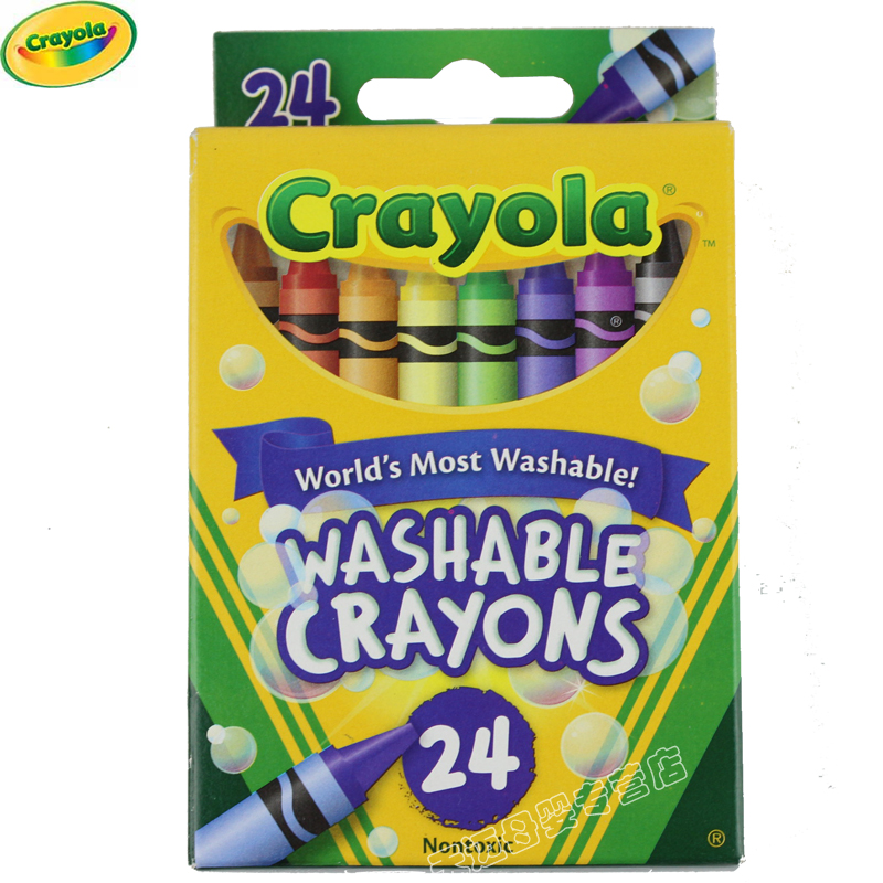 United states [crayola painted children music thousands of colors painted children music] official website monopoly 24 color washable crayons 52-6924