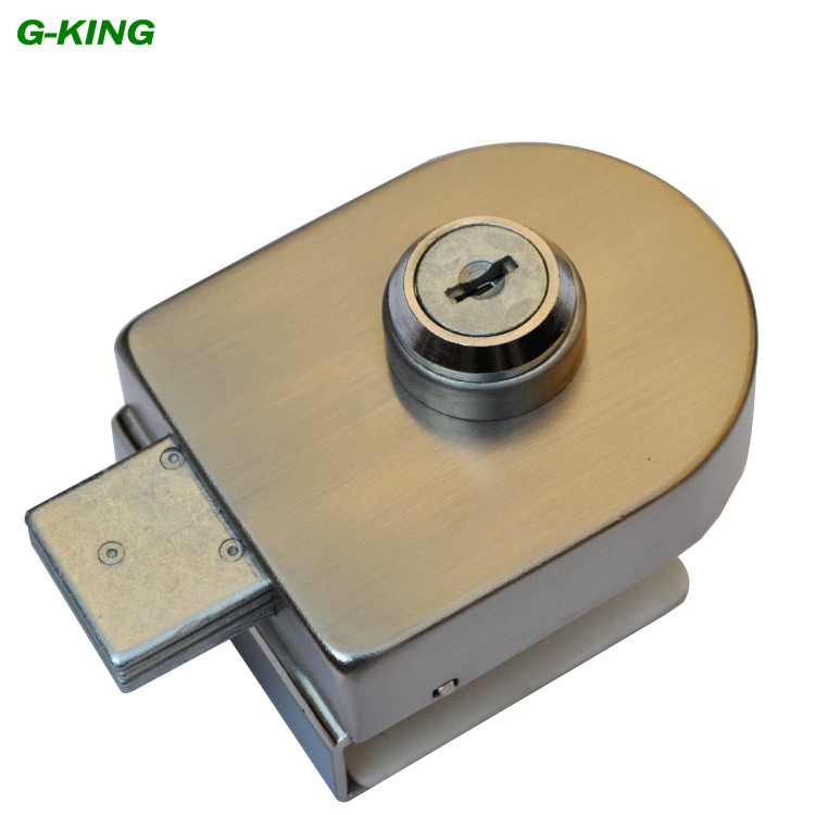 Kee concept glass door lock does not punch glass storefront glass lock lock frameless glass door lock does not need to punch