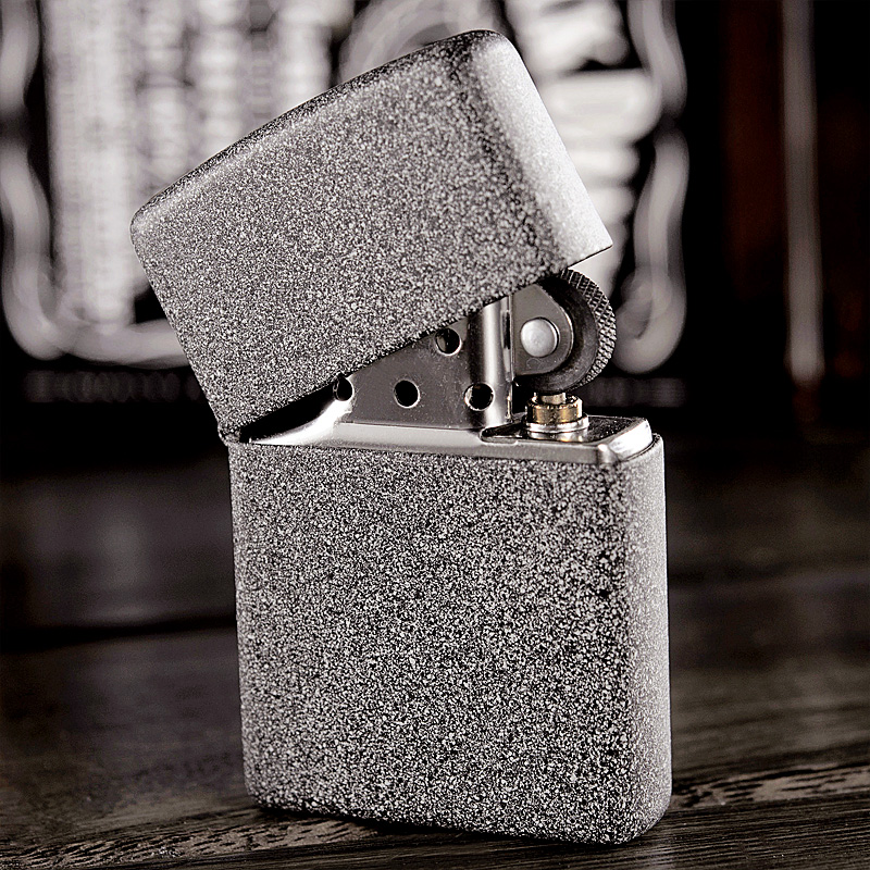 Original genuine zippo windproof lighter sand stone 211 american zippo genuine limited lettering