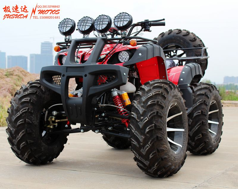 Promotional new 150cc-250cc12 inch aluminum wheels big bulls atv atv sport utility mount bracket axle drive