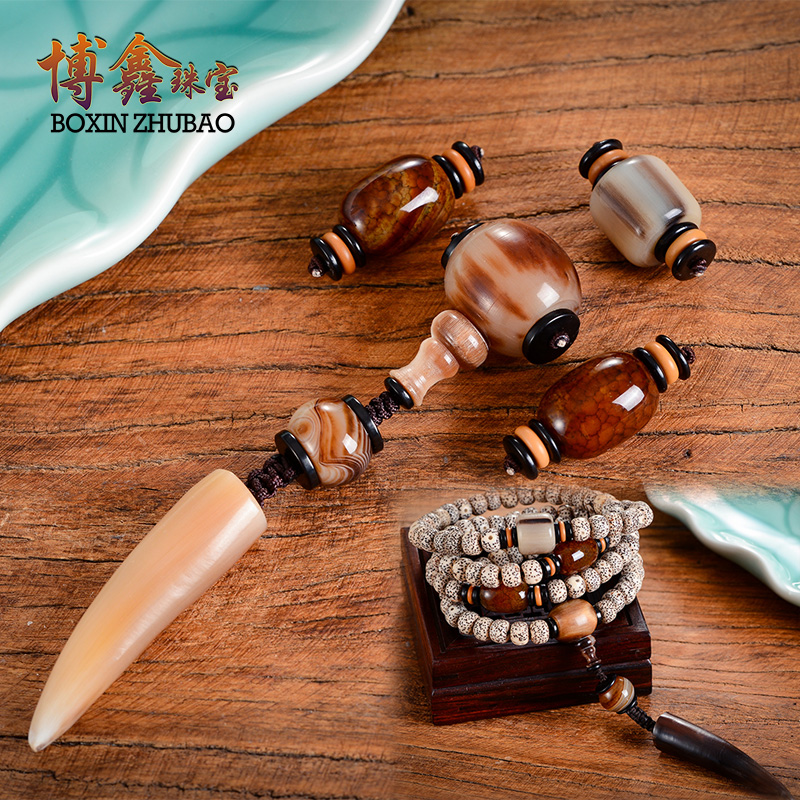 108 diamond bracelets xingyue bodhi accessories package set pendant man playing beads tee top bead accessories horns