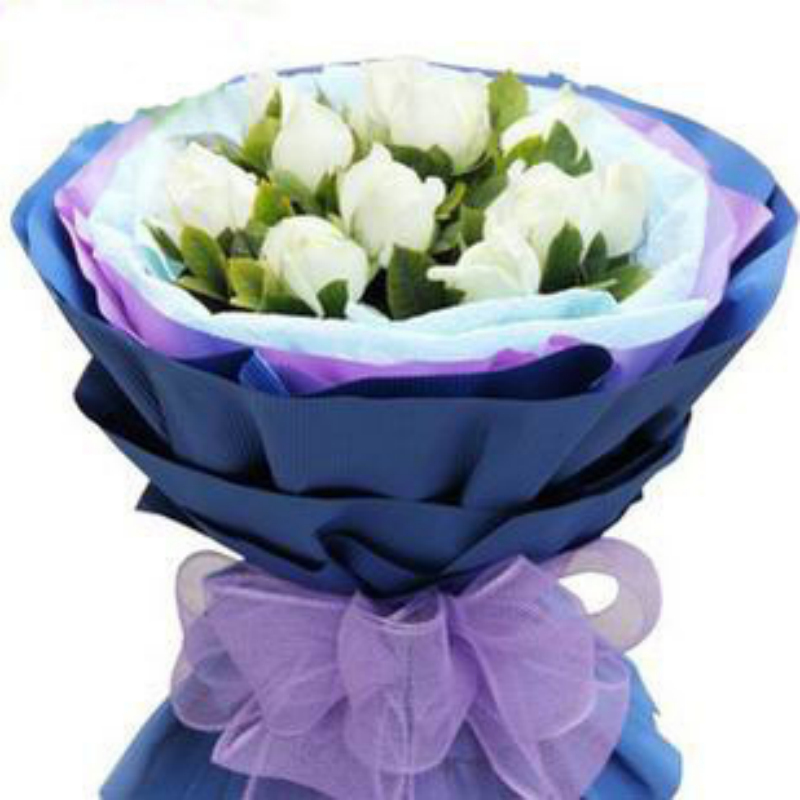 11 white roses bouquet flower delivery flower shop in taiyuan datong yangquan sui fen river recanted confession flowers