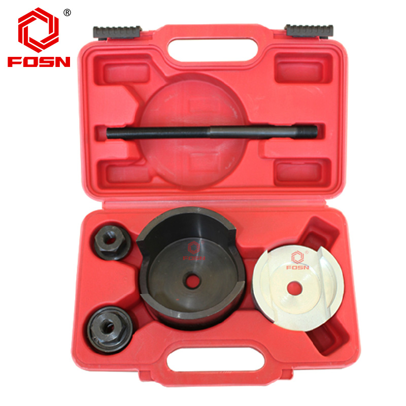 Fosn renault laguna rear axle iron sleeve disassembly tool set with sleeve bushing axis disassembly work aftermarket special tools