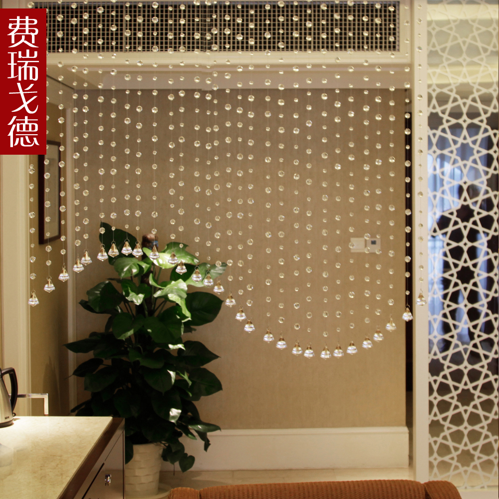 Feiruigede crystal bead curtain section finished curtain crystal bead curtain curtain crystal curtain entrance curtain curtain off feng shui