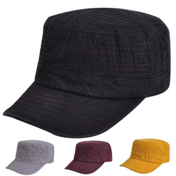 Ms. autumn and winter male flat cap hat cap influx of korean version of the cotton sun visor cap summer outdoor sun hat fashion hat