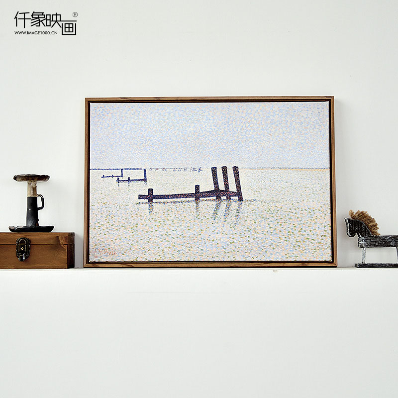 Pictures thousand like seurat painting landscapes i bedroom living room dining decorative painting mural paintings frameless painting wall painting home accessories