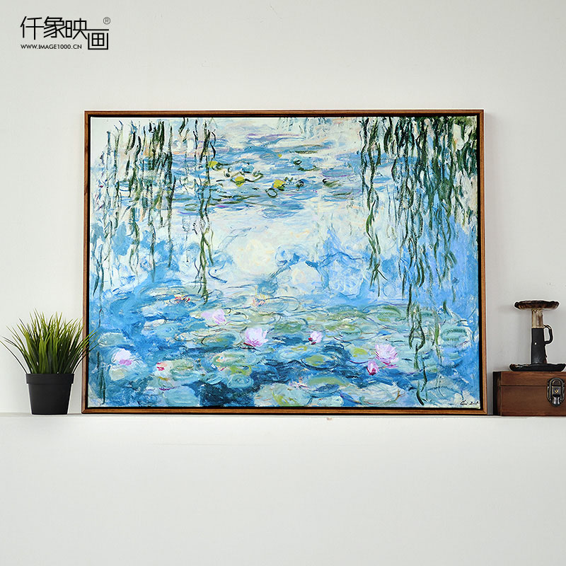 Pictures thousand like candock with willow bedroom living room dining decorative painting frameless painting wall mural paintings of european painting